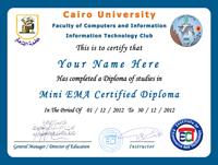 ������ ������� ���������� ������� Mini EMA Certified Diploma